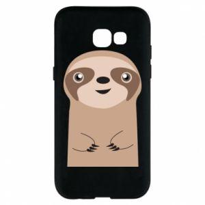 Phone case for Samsung A5 2017 Naive sloth - PrintSalon