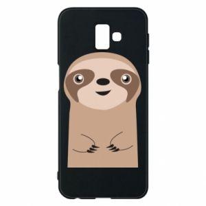 Phone case for Samsung J6 Plus 2018 Naive sloth - PrintSalon