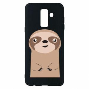 Phone case for Samsung A6+ 2018 Naive sloth - PrintSalon