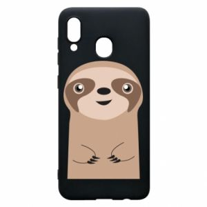 Phone case for Samsung A30 Naive sloth - PrintSalon