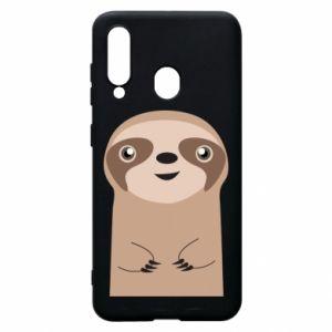 Phone case for Samsung A60 Naive sloth - PrintSalon
