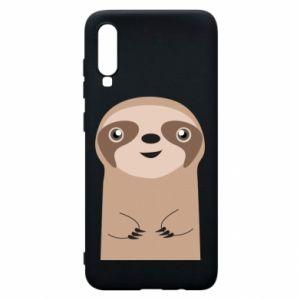 Phone case for Samsung A70 Naive sloth - PrintSalon