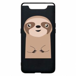 Phone case for Samsung A80 Naive sloth - PrintSalon