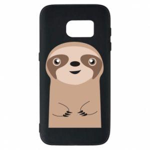 Etui na Samsung S7 Naive sloth