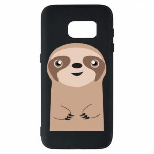 Phone case for Samsung S7 Naive sloth - PrintSalon
