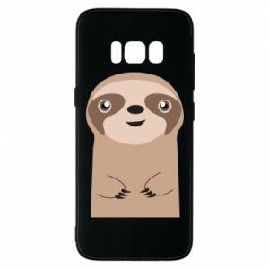 Phone case for Samsung S8 Naive sloth - PrintSalon