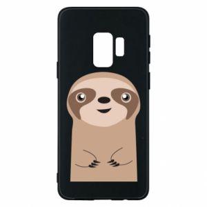 Phone case for Samsung S9 Naive sloth - PrintSalon