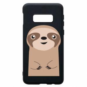 Phone case for Samsung S10e Naive sloth - PrintSalon