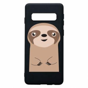 Phone case for Samsung S10 Naive sloth - PrintSalon