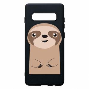 Phone case for Samsung S10+ Naive sloth - PrintSalon