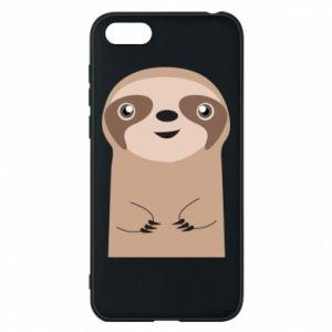 Phone case for Huawei Y5 2018 Naive sloth - PrintSalon