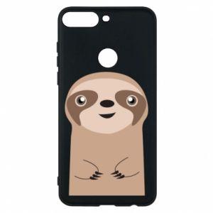 Phone case for Huawei Y7 Prime 2018 Naive sloth - PrintSalon