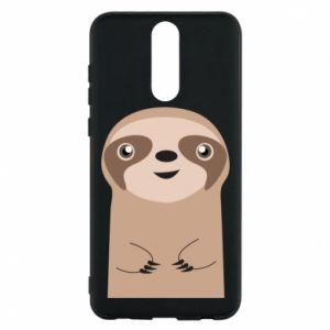 Phone case for Huawei Mate 10 Lite Naive sloth - PrintSalon