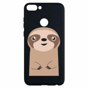 Phone case for Huawei P Smart Naive sloth - PrintSalon