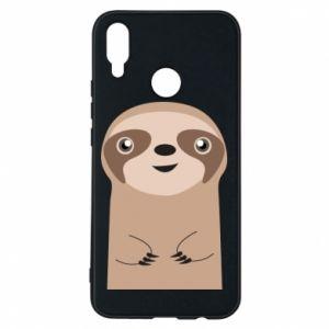 Phone case for Huawei P Smart Plus Naive sloth - PrintSalon