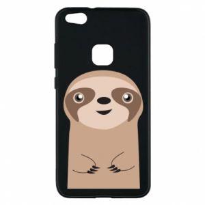 Phone case for Huawei P10 Lite Naive sloth - PrintSalon