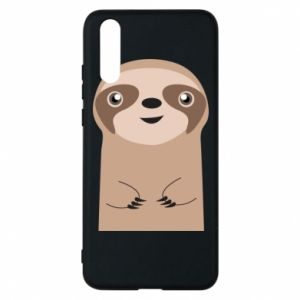 Phone case for Huawei P20 Naive sloth - PrintSalon