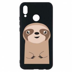 Phone case for Huawei P20 Lite Naive sloth - PrintSalon