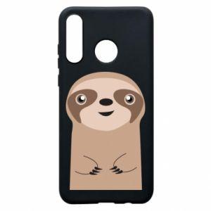 Phone case for Huawei P30 Lite Naive sloth - PrintSalon