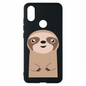 Phone case for Xiaomi Mi A2 Naive sloth - PrintSalon
