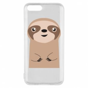 Phone case for Xiaomi Mi6 Naive sloth - PrintSalon