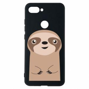 Phone case for Xiaomi Mi8 Lite Naive sloth - PrintSalon