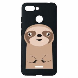 Phone case for Xiaomi Redmi 6 Naive sloth - PrintSalon
