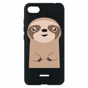 Phone case for Xiaomi Redmi 6A Naive sloth - PrintSalon