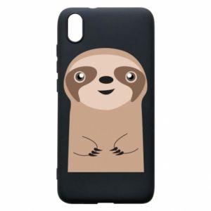 Phone case for Xiaomi Redmi 7A Naive sloth - PrintSalon