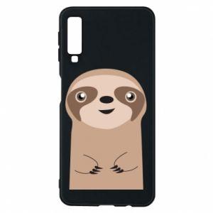 Phone case for Samsung A7 2018 Naive sloth - PrintSalon