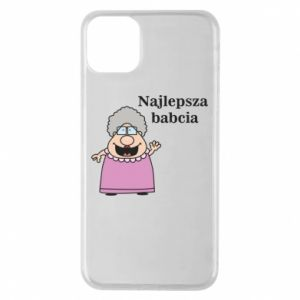 Phone case for iPhone 11 Pro Max Najlepsza babcia
