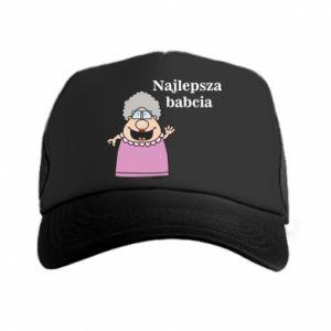 Czapka trucker Najlepsza babcia - PrintSalon