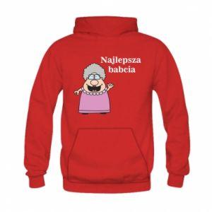 Kid's hoodie Najlepsza babcia
