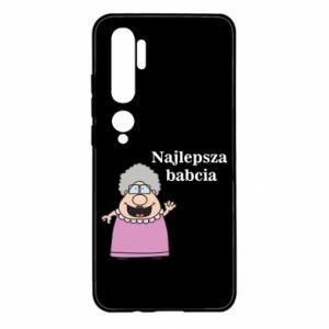 Xiaomi Mi Note 10 Case Najlepsza babcia