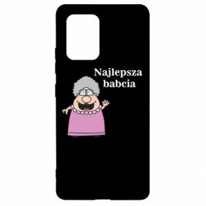 Samsung S10 Lite Case Najlepsza babcia
