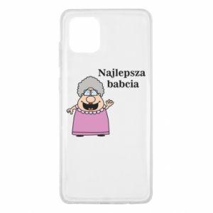 Samsung Note 10 Lite Case Najlepsza babcia