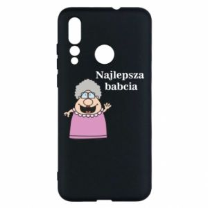 Etui na Huawei Nova 4 Najlepsza babcia