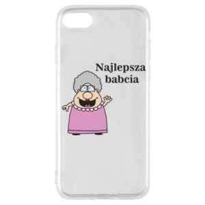 Etui na iPhone SE 2020 Najlepsza babcia