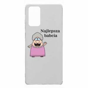 Etui na Samsung Note 20 Najlepsza babcia