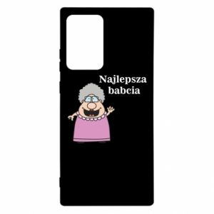 Etui na Samsung Note 20 Ultra Najlepsza babcia