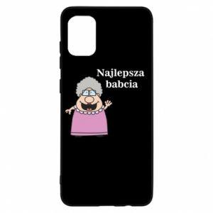 Etui na Samsung A31 Najlepsza babcia