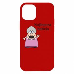 Etui na iPhone 12 Mini Najlepsza babcia