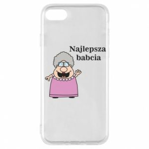 Phone case for iPhone 7 Najlepsza babcia