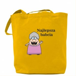 Torba Najlepsza babcia - PrintSalon