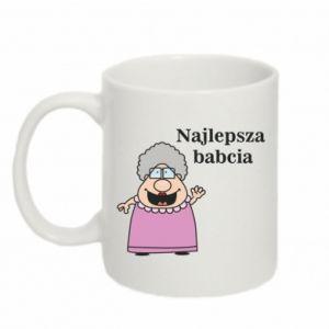 Kubek 330ml Najlepsza babcia - PrintSalon