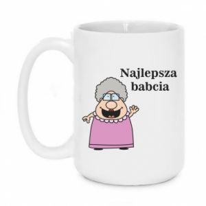 Kubek 450ml Najlepsza babcia - PrintSalon