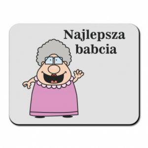Podkładka pod mysz Najlepsza babcia - PrintSalon