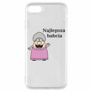 Etui na iPhone 8 Najlepsza babcia - PrintSalon
