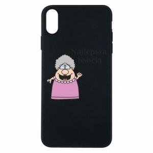 Etui na iPhone Xs Max Najlepsza babcia