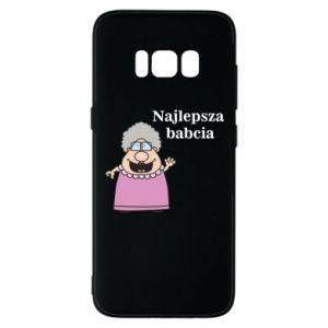 Etui na Samsung S8 Najlepsza babcia - PrintSalon